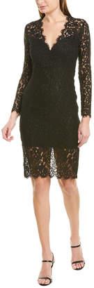 Bardot Midnight Lace Sheath Dress