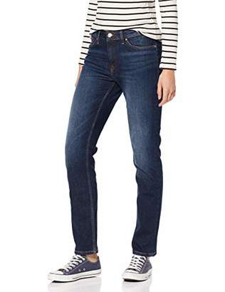 Tommy Hilfiger Women's Straight Fit Jeans - Blue - Blau (420 ABSOLUTE BLUE) - (Brand size: 34/30)