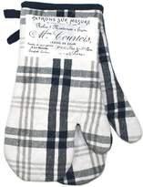 +Hotel by K-bros&Co Hotel Plaid 'n Patch Oven Mitt 2-pk.
