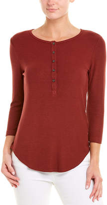 Three Dots Henley Top