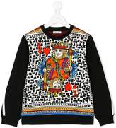 Dolce & Gabbana king of hearts sweatshirt