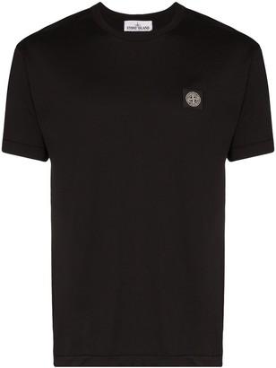 Stone Island logo-appliqued cotton T-shirt