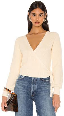 Privacy Please Alona Wrap Sweater