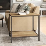 Laurèl Cadence End Table with Storage Foundry Modern Farmhouse