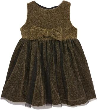 Popatu Metallic Sleeveless Tulle Dress