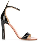 Francesco Russo ankle strap 110mm heel sandals