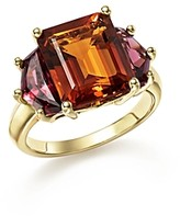 Bloomingdale's Citrine and Garnet Statement Ring in 14K Yellow Gold - 100% Exclusive