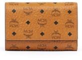 MCM 'Visetos' Trifold Wallet - Brown