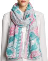 Lola Rose Bohemian Express Cross Stitch Rose Scarf