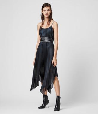 AllSaints Lerin Knit 2-in-1 Dress
