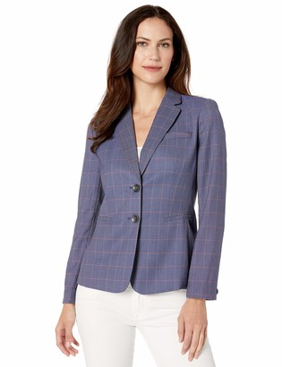 Tahari ASL Women's Notch Collar Jacket