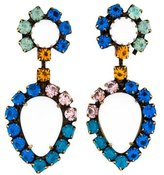 Dannijo Mirabella Crystal Drop Earrings