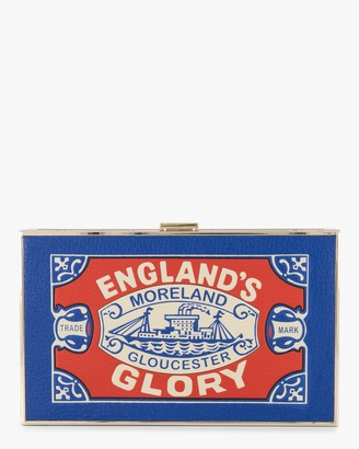 Anya Hindmarch England's Glory Matches Imperial Clutch
