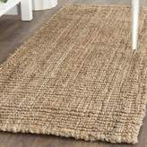 Safavieh Fiber Collection NF447A Hand Woven Jute Runner, (2-Feet 6-Inch X 6-Feet)