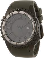 Momentum St.Moritz Watch Group Men's 1M-DV64G4G SILVER FOX Analog Dive Watch with 3D Dial and Date Watch