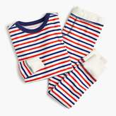 J.Crew Kids' pajama set in stripes