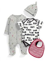 Mamas and Papas Baby Boys' Triangle 4 Piece Clothing Set,9-12 Months