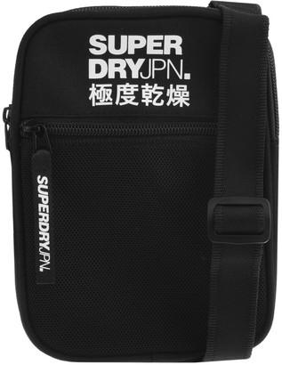 Superdry Sports Pouch Shoulder Bag Black