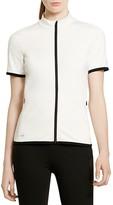 Lauren Ralph Lauren Active Short Sleeve Zip Jacket