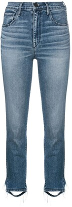3x1 Cropped High Waisted Jeans