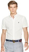 Polo Ralph Lauren Slim Cotton Seersucker Shirt