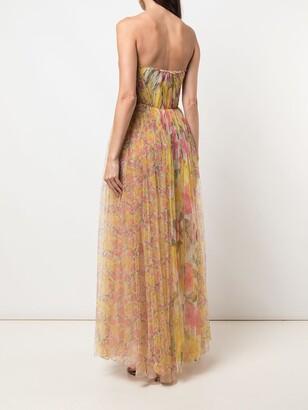 Jason Wu Collection Silk Strapless Long Dress