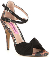 Betsey Johnson Emerie Double Ankle Strap Dress Sandals