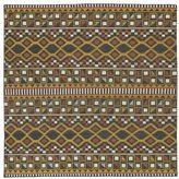 Tribeca Flatweave Charcoal Wool Rug (8' Square)
