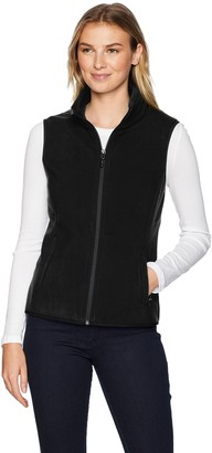 Amazon Essentials Women's Standard Full-Zip Polar Fleece Vest