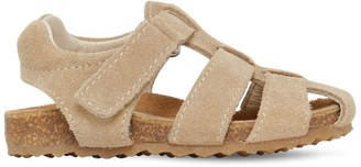 Il Gufo Leather & Suede Sandals