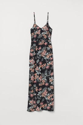 H&M Crepe maxi dress