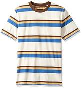 Brixton Men's Clive Washed Short Sleeve Knit