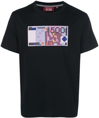 Mostly Heard Rarely Seen 8-Bit euro printed T-shirt