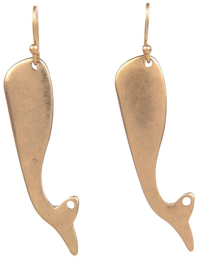 Lori's Shoes Whale Earrings