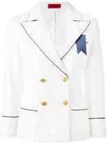 The Gigi - double-breasted blazer - women - Cotton - 38