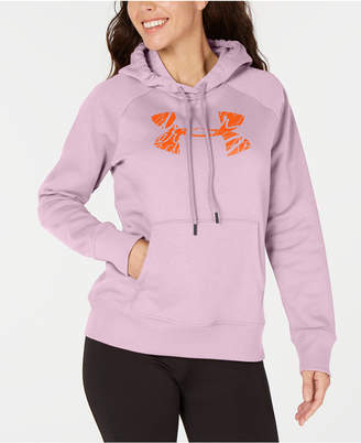 Under Armour Women Rival Logo Fleece Hoodie