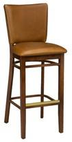 "Regal Beechwood Upholstered Seat Bar & Counter Stool Seat Height: Counter Stool (26"" Seat Height)"