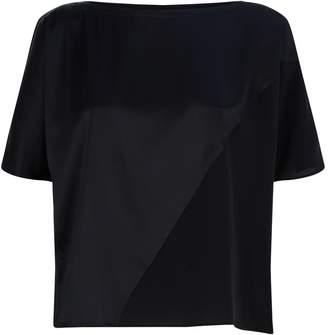 Eileen Fisher Panelled Satin T-Shirt