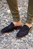 Free People Black Suede Loafer