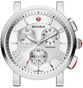 Michele 20mm Sport Sail Stainless Steel Watch Head, 42mm