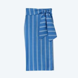 Summersalt The Easy Breezy Sarong - French Stripe in Indigo