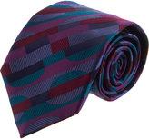 Duchamp Crescent Geometric Tie