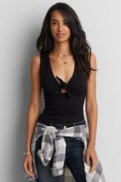 American Eagle Outfitters AE First Essentials Knot Tank