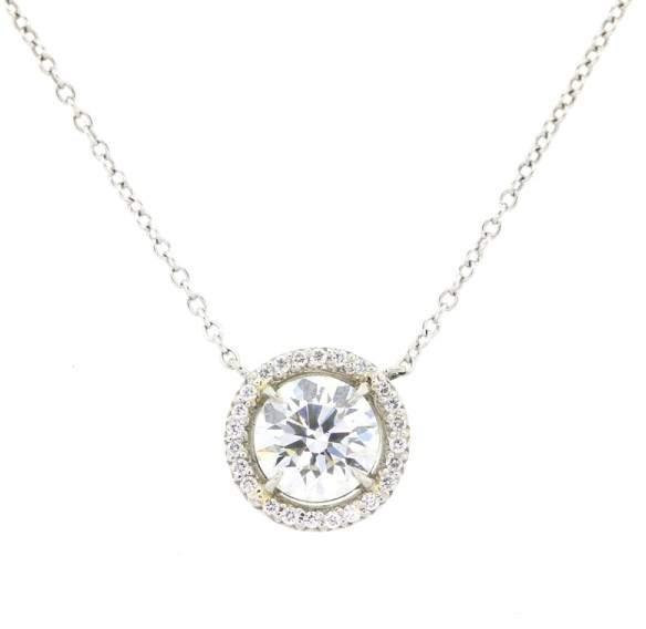 Tiffany & Co. and Co Diamond Pendant