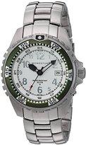 Momentum 'M1 Twist' Quartz Stainless Steel Diving Watch, Color:Grey (Model: 1M-DV11WK0)