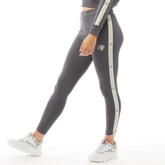 Crosshatch Womens Lunay Leggings Magnet