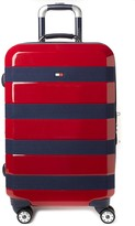 """Tommy Hilfiger Rugby Stripe 25"""" Upright Spinner Suitcase"""