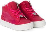 Armani Junior hi-top sneakers