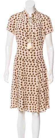 Derek Lam Silk Printed Dress w/ Tags