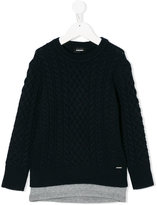 Diesel cable-knit sweater